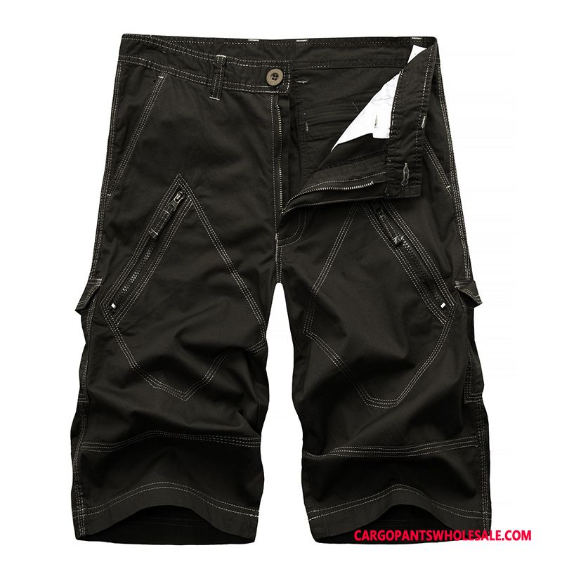 Capri Pants Male Army Green Shorts The New Europe Pants Sweatpants