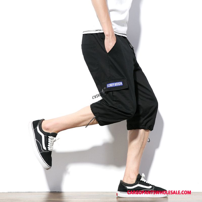 Capri Pants Male Black Fashion The New Men Shorts Casual Pants Summer