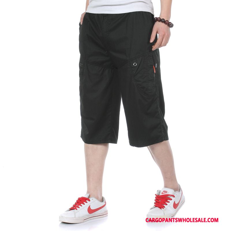 Capri Pants Male Capri Pants Loose Summer Motion Thin Section