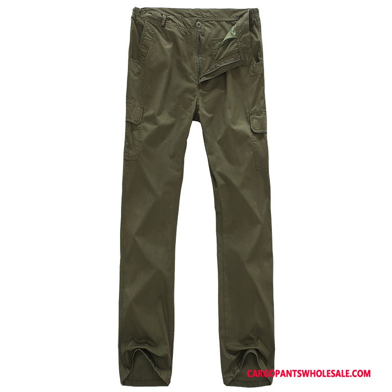 Cargo Pants Male Army Green Green Trousers Tide Men Straight Cargo Loose