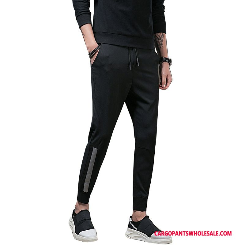 Cargo Pants Male Black Casual Pants The New Loose Tide Harlan