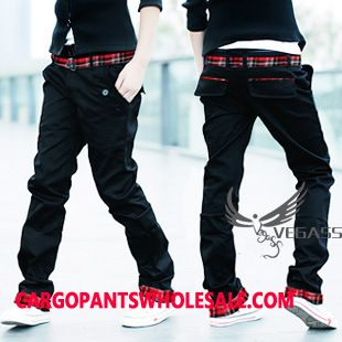 Cargo Pants Male Black Green Cargo Pants Trousers Tide Original Leisure