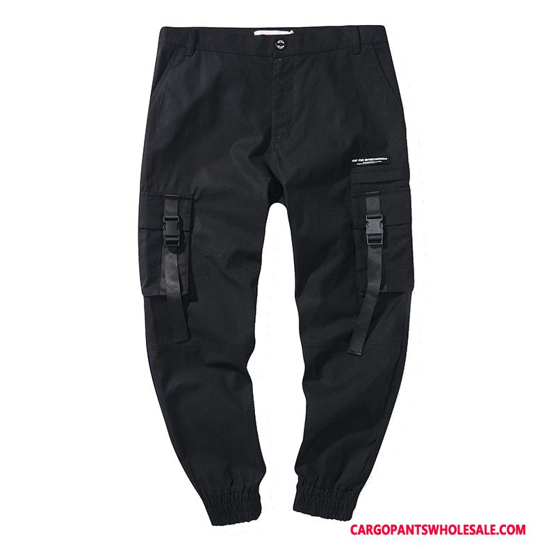 Cargo Pants Male Black Green Cargo Tide Brand Student Spring Pants