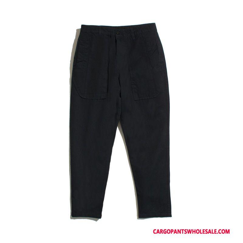 Cargo Pants Male Black Green Harlan Loose Men Pants Street Trousers