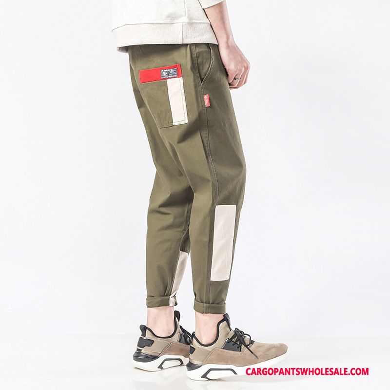 Cargo Pants Male Black Green Small Cargo Pants The New Casual Pants Trousers