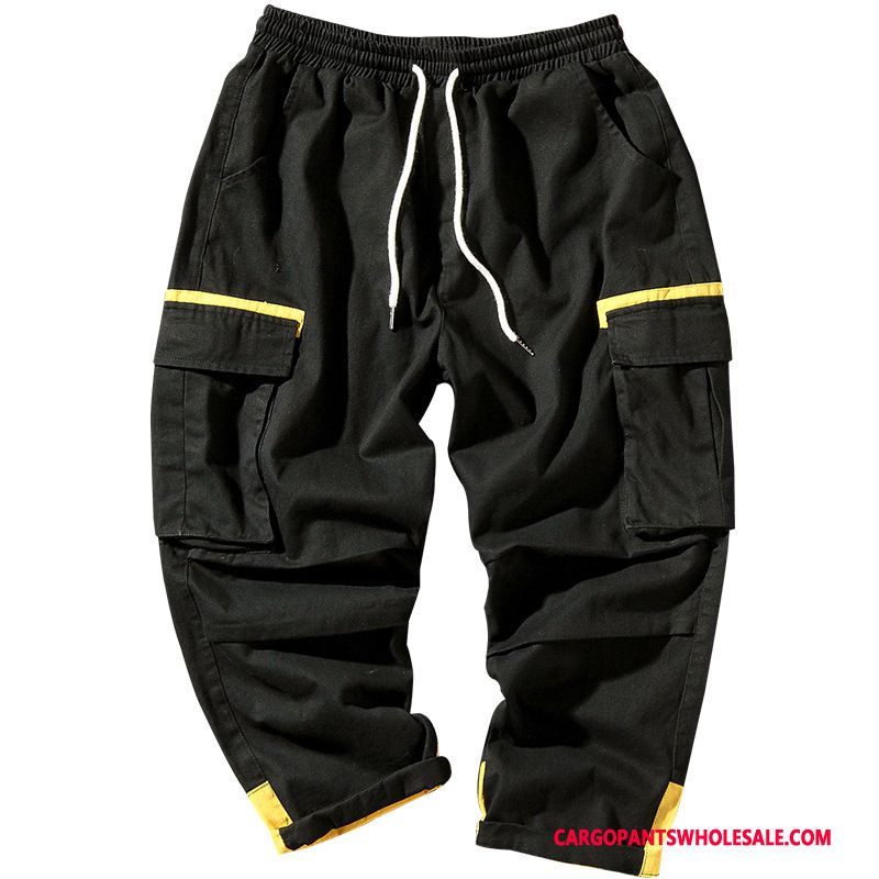 Cargo Pants Male Black Sweatpants Loose Men Summer Pants Cargo Pants