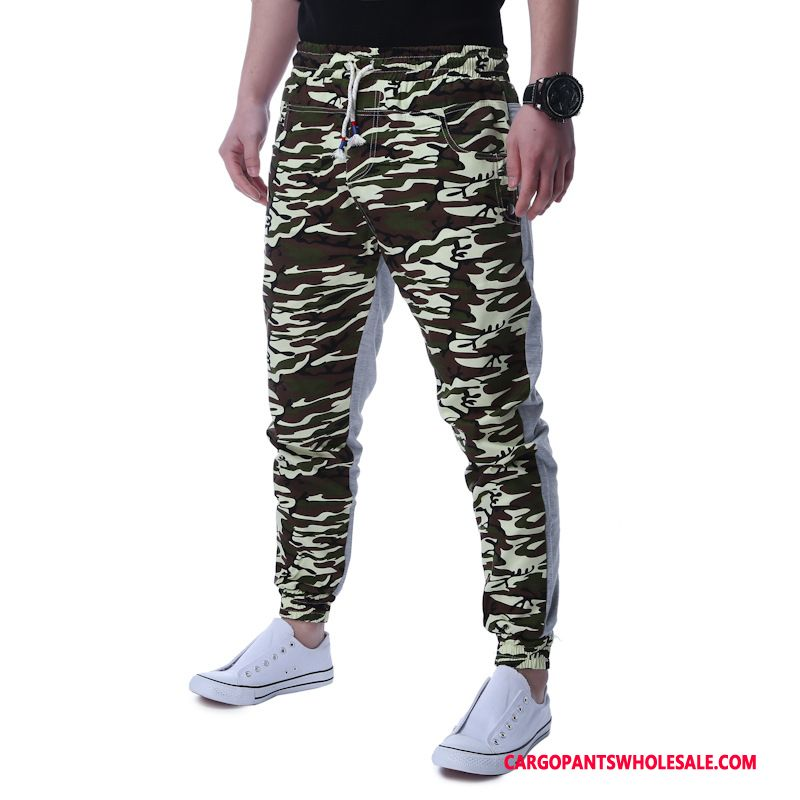 Cargo Pants Male Camouflage Army Green Gray Leisure Trousers Men Cargo Motion The New