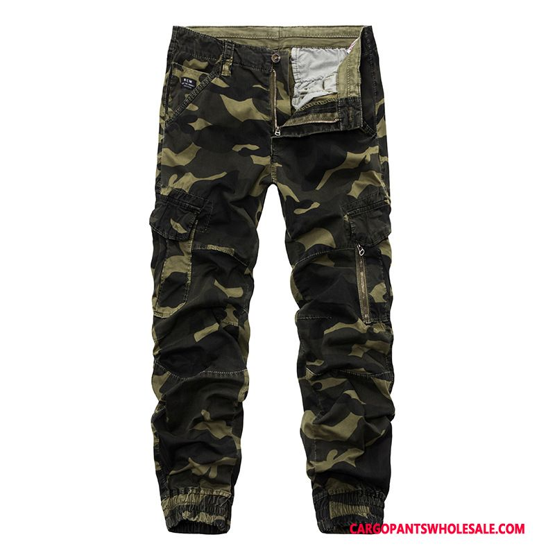 Cargo Pants Male Camouflage Deep The New Large Size Pants Fashion Multiple Pockets