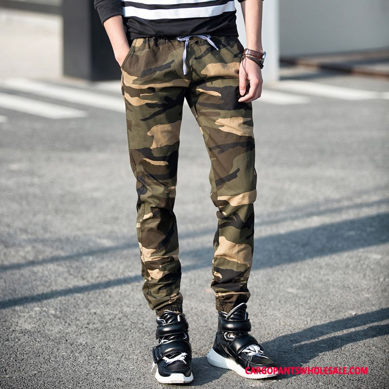 Cargo Pants Male Camouflage Deep The New Leisure Outdoor Loose Cargo Pants