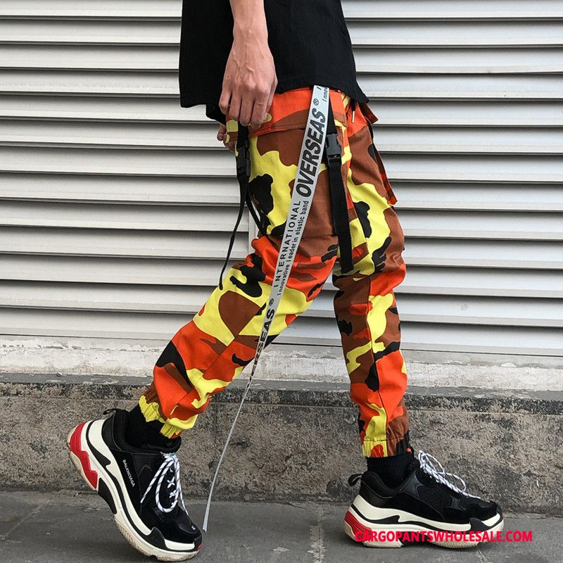 Cargo Pants Male Camouflage High Beam Foot Men Summer Leisure The New