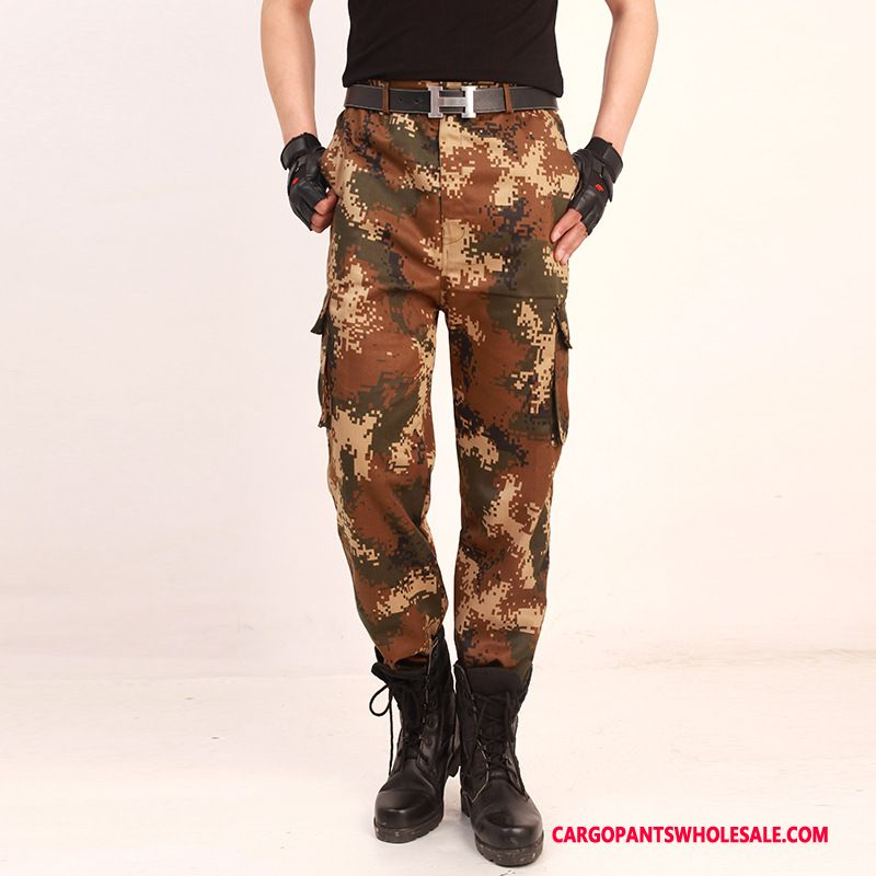 Cargo Pants Male Camouflage The New Work Clothes Men Cargo Pants Long Casual Pants