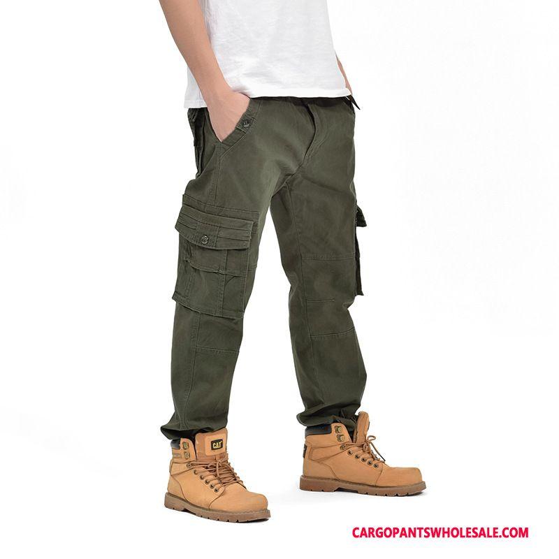 Cargo Pants Male Gray Outdoor Motion Men Autumn Trousers Cargo Pants
