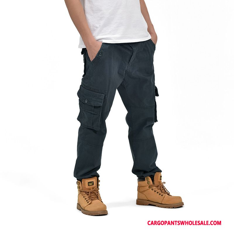 Cargo Pants Male Gray Outdoor Motion Men Autumn Trousers Cargo Pants