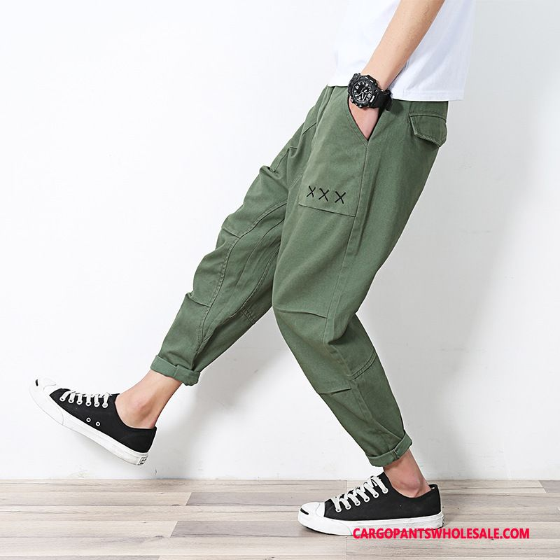 Cargo Pants Male Green Autumn Harlan Men The New Spring Casual Pants
