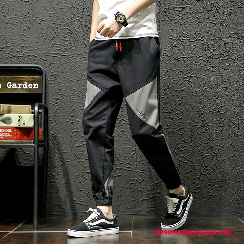 Cargo Pants Male Green Casual Pants Motion Thin Section Fashion Trend