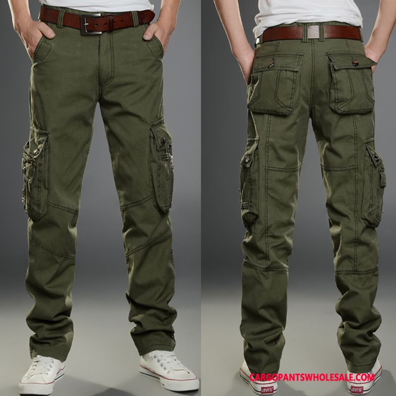 Cargo Pants Male Green Trousers Summer Men Spring Cargo Casual Pants