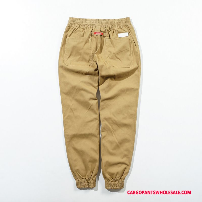 Cargo Pants Male Khaki Pants Original Europe Beam Foot Cargo