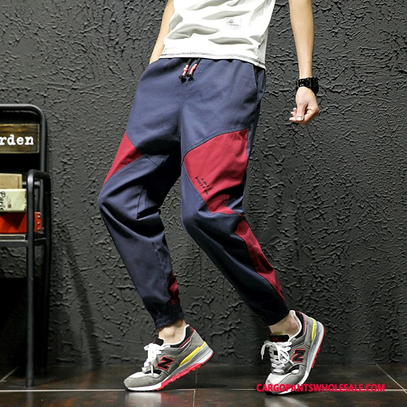 Cargo Pants Male Navy Blue Pants Harlan Cargo Pants Casual Pants All Match