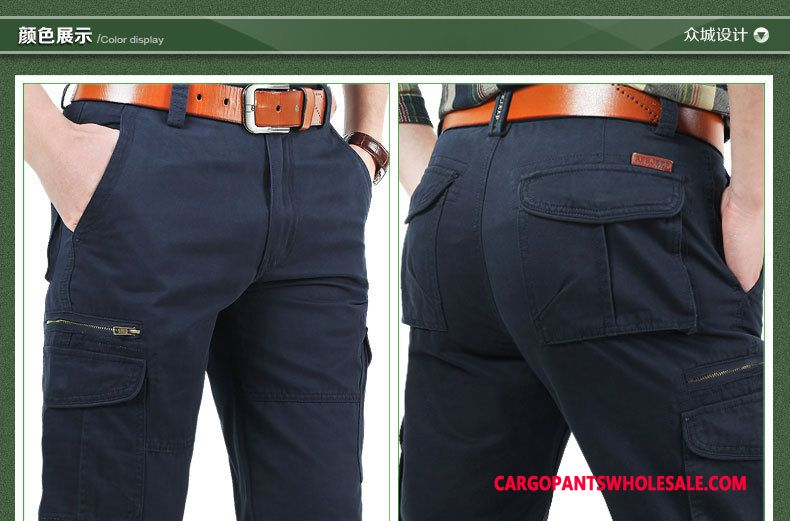 Cargo Pants Male The New Thin Men Pants Cargo Pants Straight