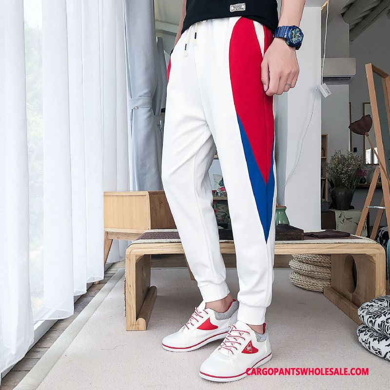 Cargo Pants Male White Green Pants The New Men Men Loose Sweatpants Casual Pants