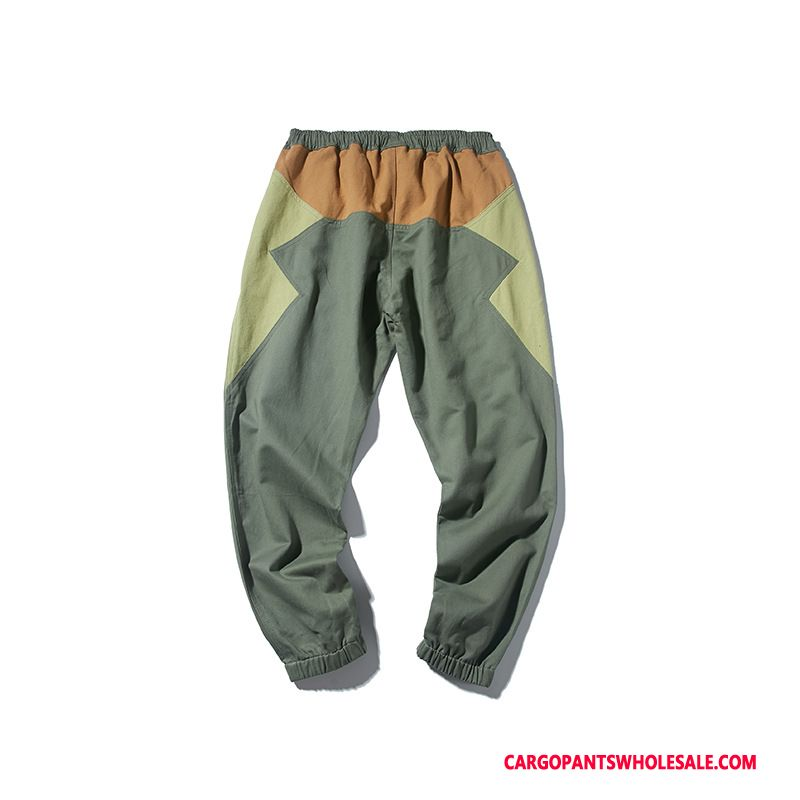 Cargo Pants Men Army Green Green The New Casual Pants Beam Foot Autumn Splice