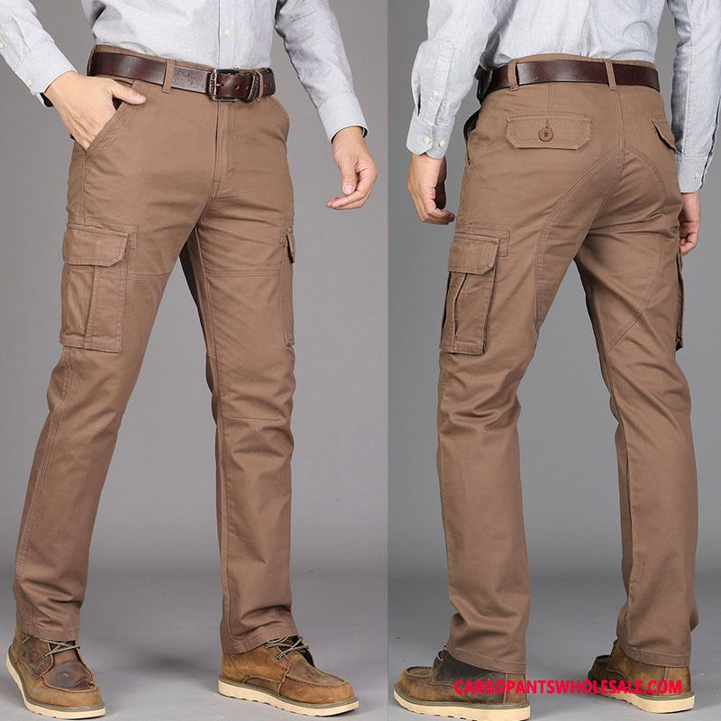 Cargo Pants Men Brown Light Green The New Outdoor Motion Cargo Long