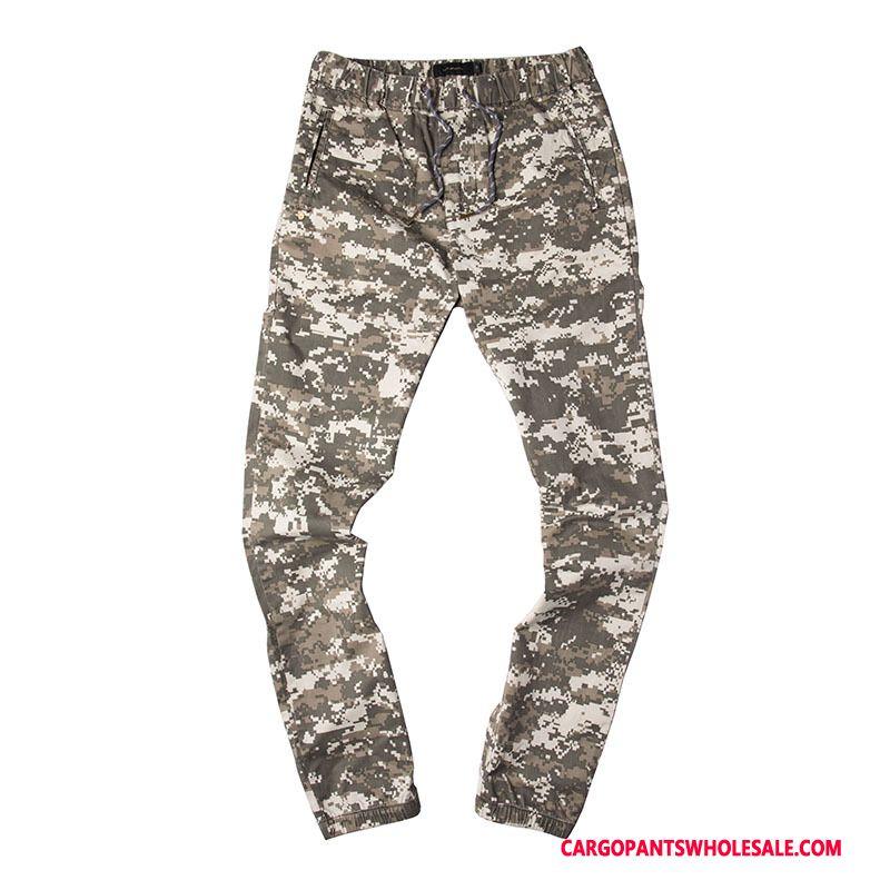 Cargo Pants Men Camouflage Khaki Casual Pants Original Cargo Pants Motion Small