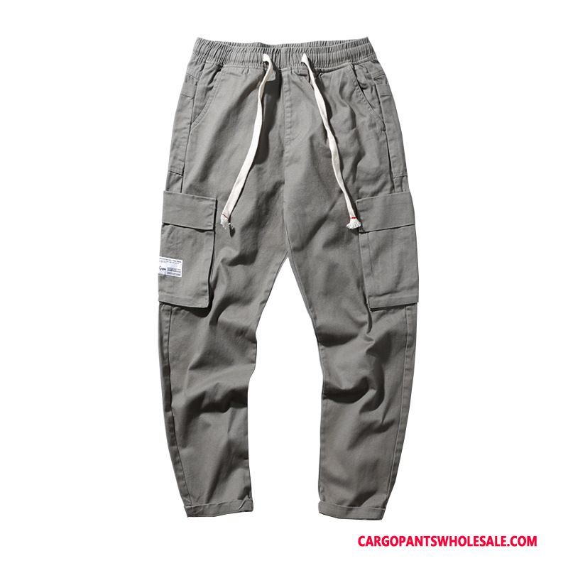 Cargo Pants Men Green Gray The New Casual Pants Winter Autumn Cargo Pants