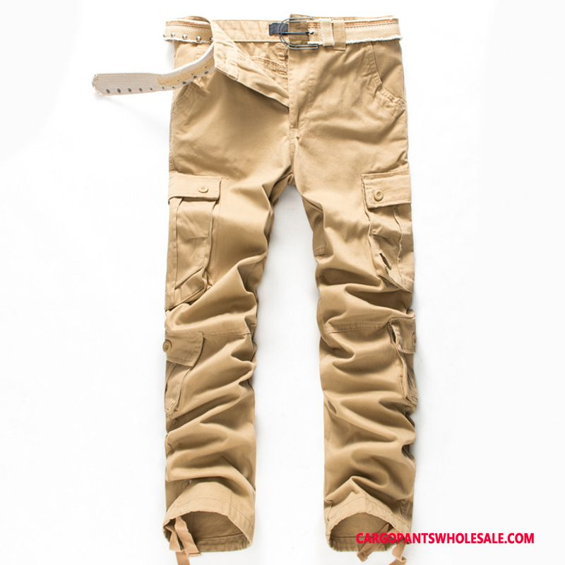 Cargo Pants Men Khaki Pants Autumn Trousers The New Cargo