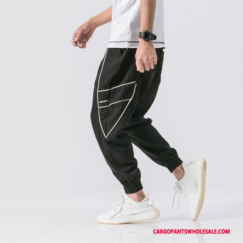 Cargo Pants Men Khaki Pants Europe Street All Match Loose