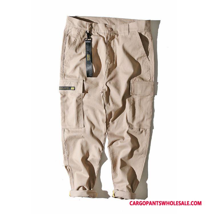 Cargo Pants Men Khaki Pants The New Ribbon Original Casual Pants