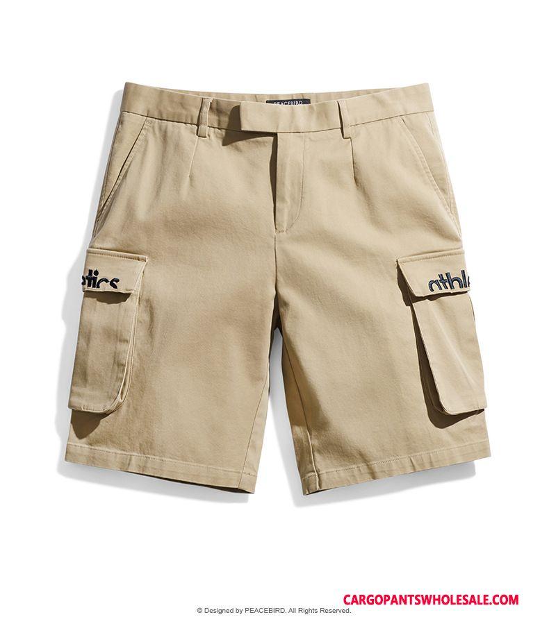 Cargo Shorts Male Khaki Tide Trend Casual Pants Summer Motion
