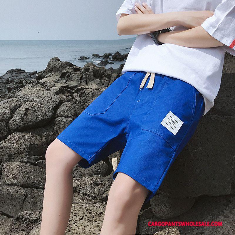 Cargo Shorts Male Powder Cargo Motion Men Summer Leisure Trend