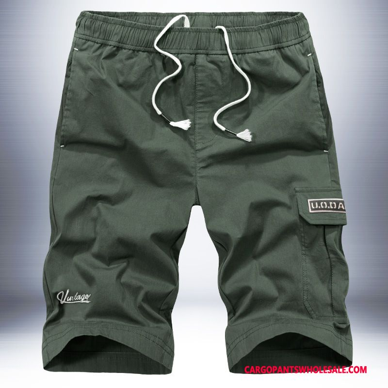 Cargo Shorts Male Shorts Pants Men Loose Cargo Sweatpants
