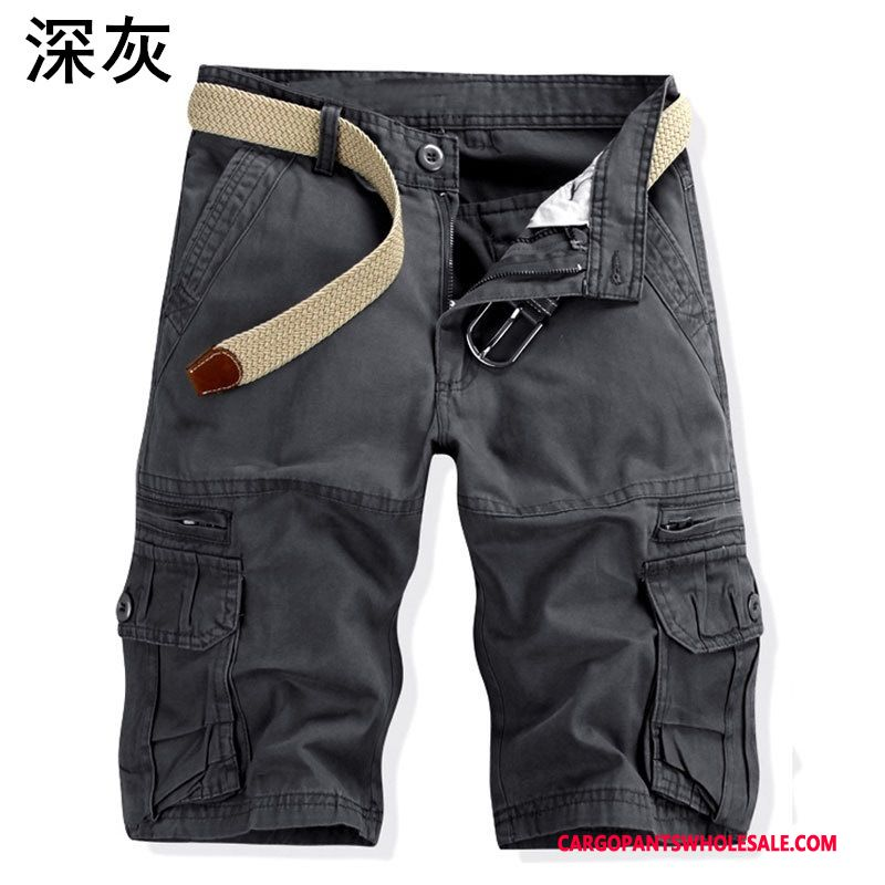 Cargo Shorts Men Army Green Multi-pocket Motion Outdoor Pants Cargo