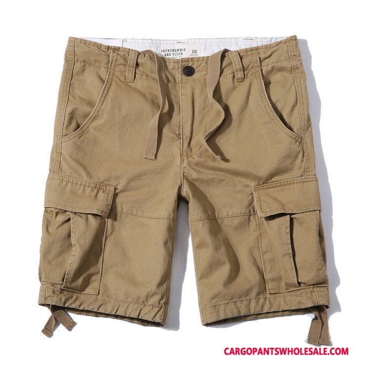Cargo Shorts Men Blue The New Cargo Europe Shorts Leisure