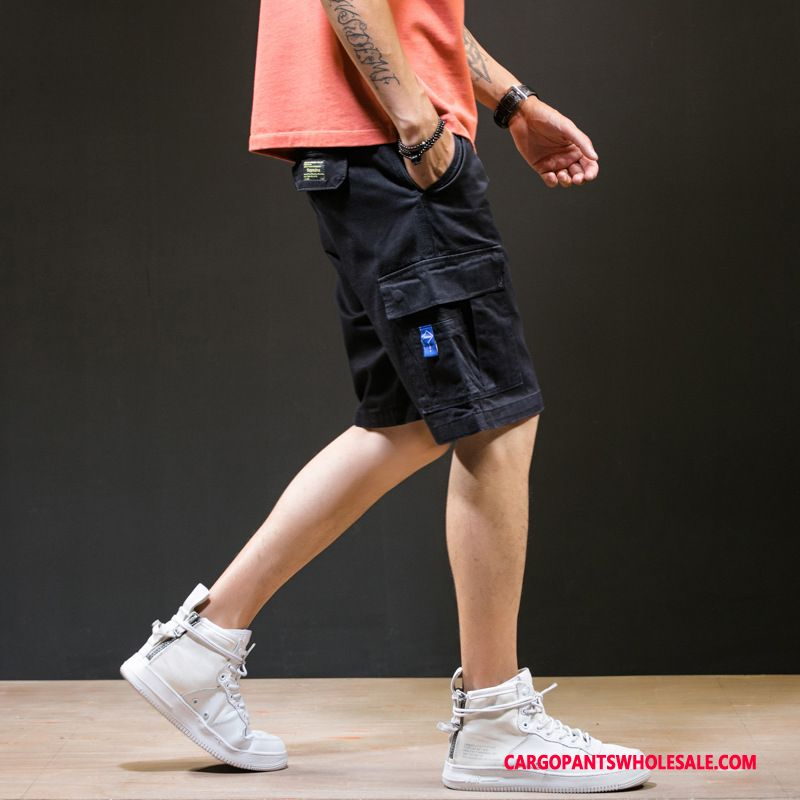 Cargo Shorts Men Camouflage Black Green Pants Summer The New Shorts Loose