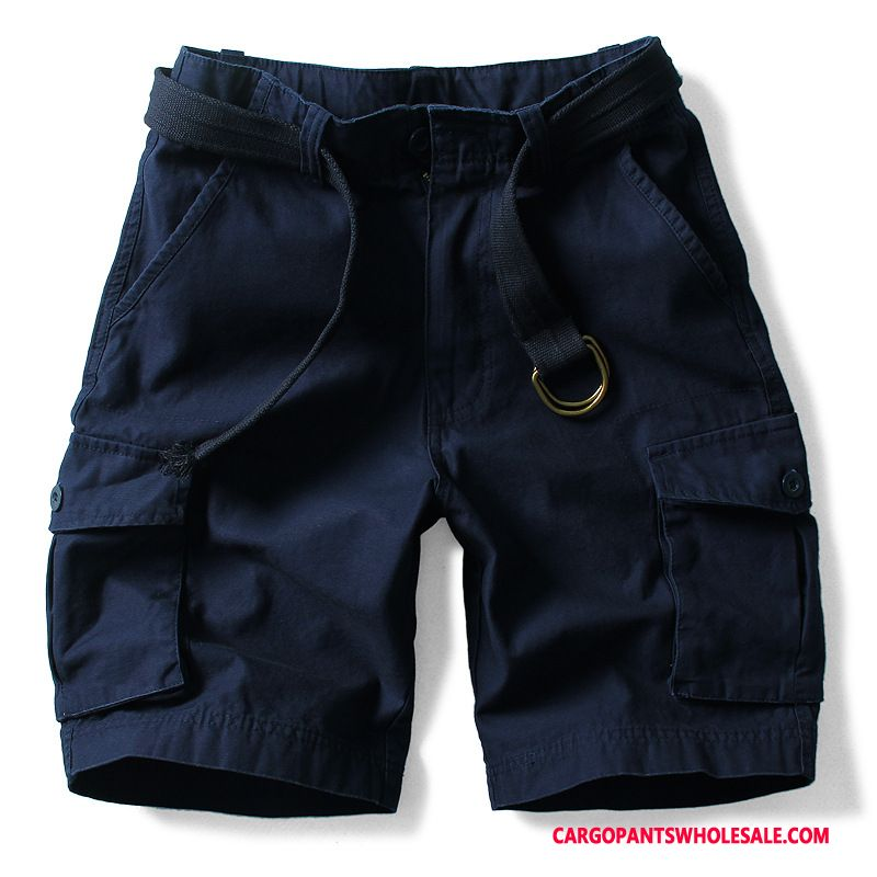 Cargo Shorts Men Camouflage Yellow Cargo Shorts Large Size Pants Leisure