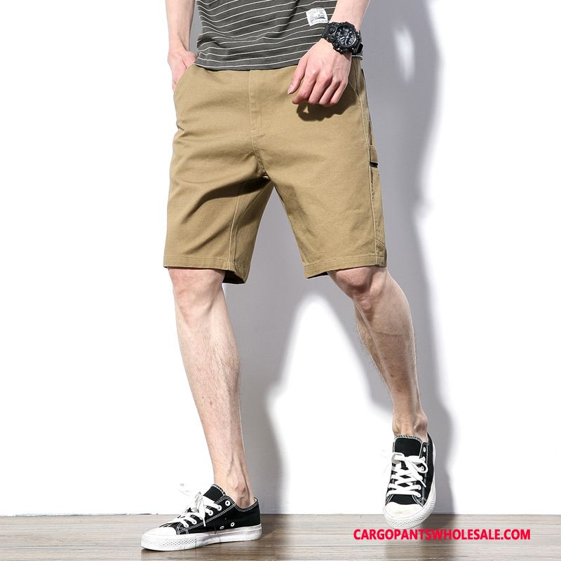 Cargo Shorts Men Khaki The New Medium Pants Shorts Original