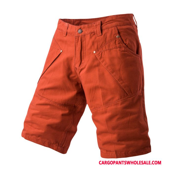 Cargo Shorts Men Red Candy The New Shorts Pants Cargo Pants