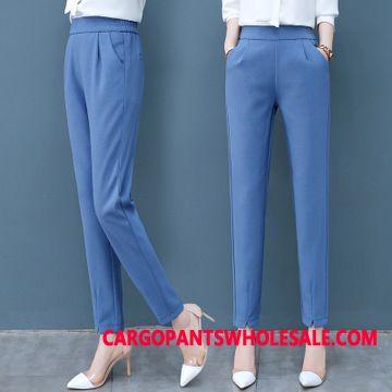 Dress Pants Female Slim High Waist Women Pants Spring Harlan