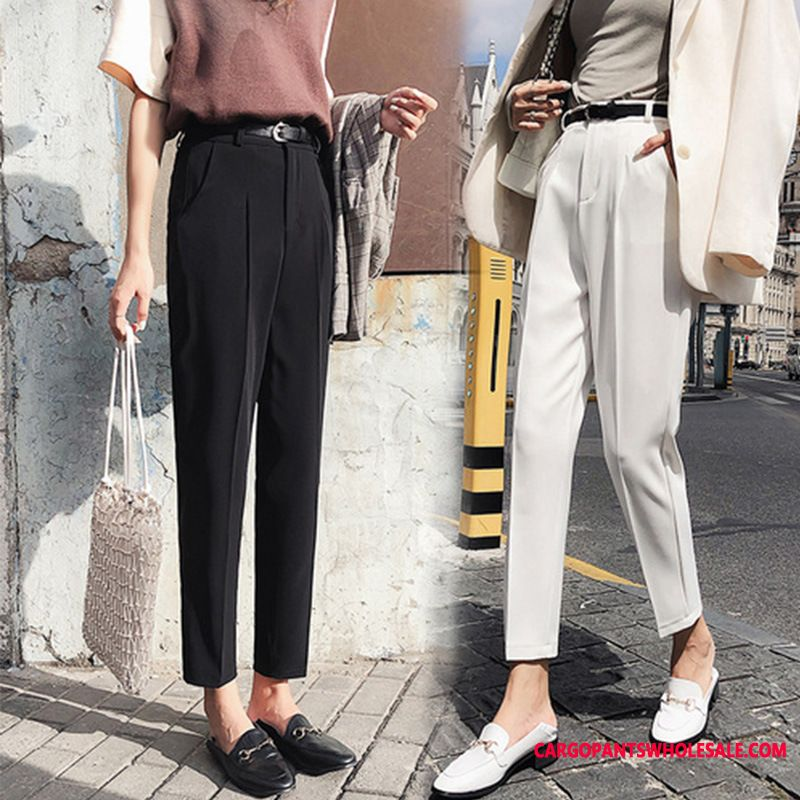 Dress Pants Women Black Explosion Summer Small Pants Slim Fit