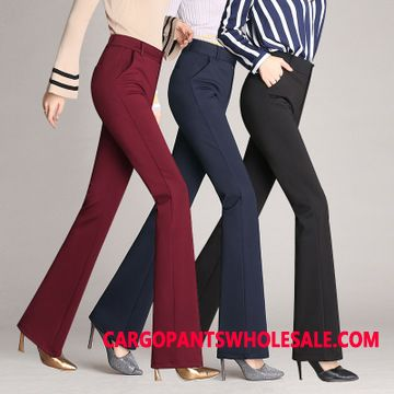 Dress Pants Women Black Suit Large Size Slim Fit Leisure Pants