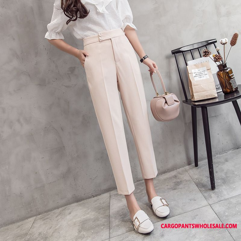 Dress Pants Women Solid Color Spring Suit Harlan All Match