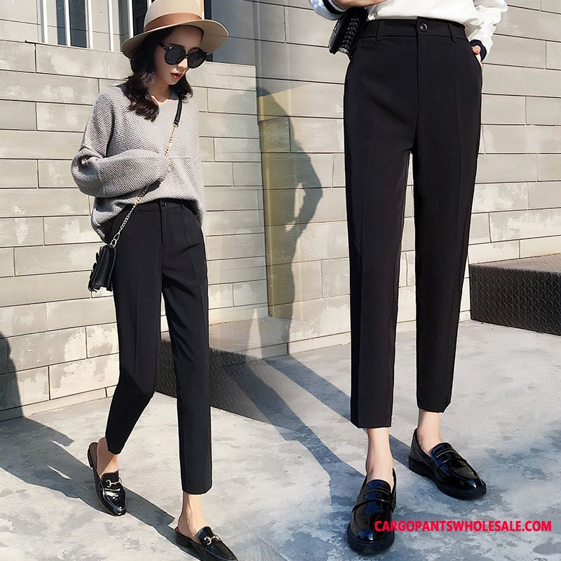 Dress Pants Women Spring Summer Casual Pants High Waist The New