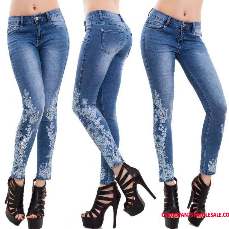Jeans Female Slim Explosion Women The New Pants Pants