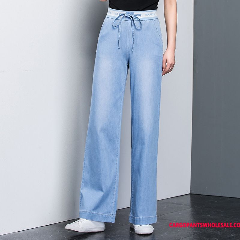 Jeans Women Leisure High Waist Pants Jeans Spring