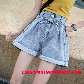 Shorts Women Black Summer Cowboy Shorts All Match Student