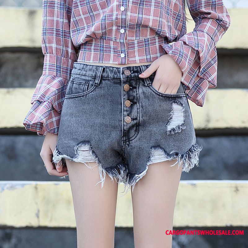 Shorts Women Hot Pants Thin Section Summer Slim Student