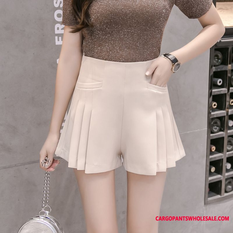 Shorts Women Pleated Loose Spring Pants The New